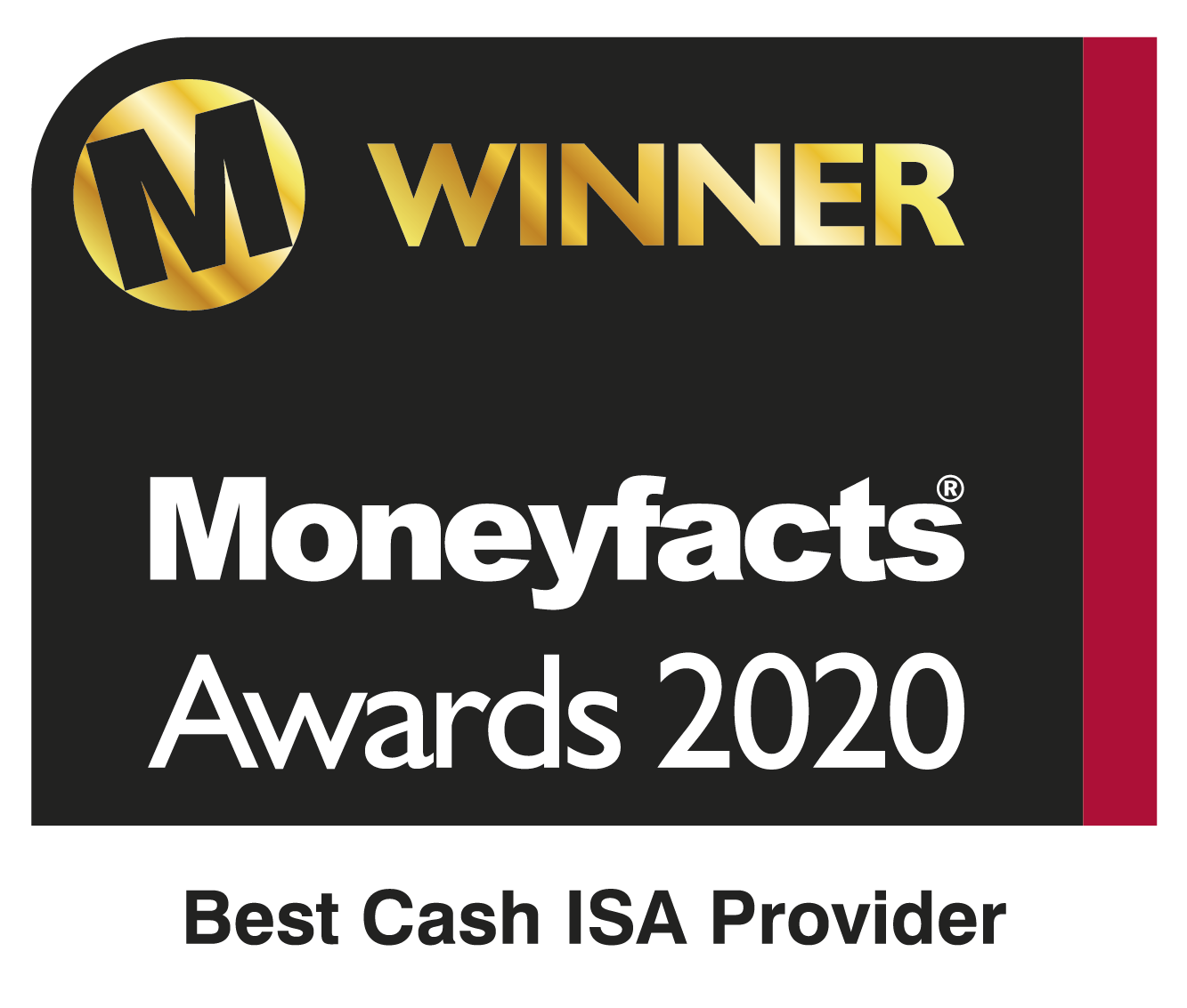 Moneyfacts awards 2019 - Best Cash ISA Provider