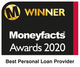 Moneyfacts Awards 2020 - Best Personal Loans Provider