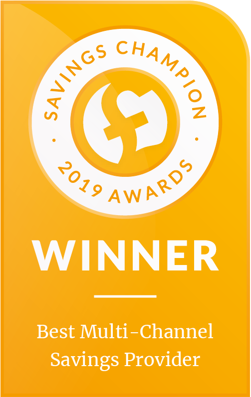 Savings Champion 2019 Awards - Best Multi-channel Savings Provider