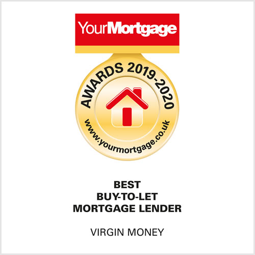 Your Mortgage Awards 2019 -2020. Best buy-to-let mortgage lender. Virgin Money